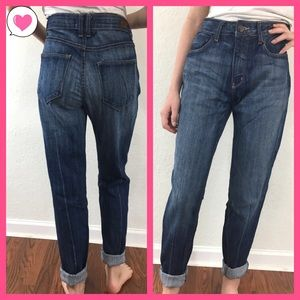 BDG UO High Rise Waisted ankle cigarette jeans 30